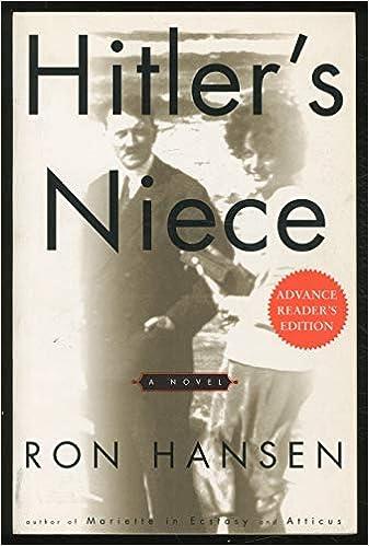 Hitlers Niece: Amazon.es: Hansen, Ron: Libros en idiomas ...