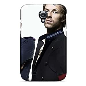 Shockproof Hard Phone Case For Samsung Galaxy S4 (XJd16506mncR) Allow Personal Design Lifelike Coldplay Band Image