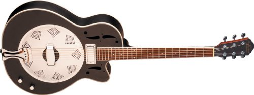 Round Neck Resonator Guitar - 7