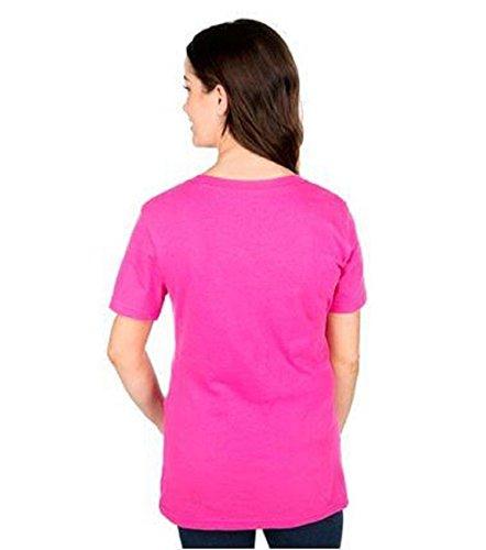- LSA Dallas Football Women's Pink Coaches Too V-Neck T-Shirt - S