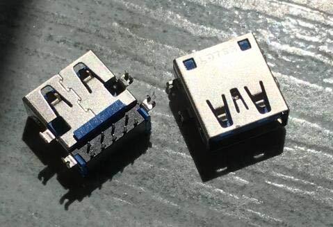 Gimax 10pcs//lot laptop USB 3.0 usb Connector for Toshiba C850 C850D C855D C855 L850