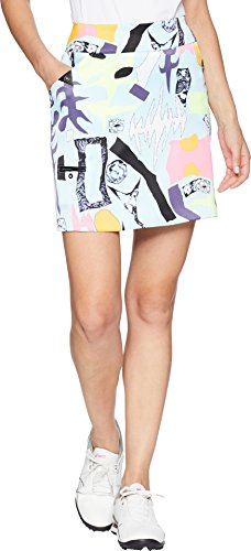 2 Button Stretch Skort - Jamie Sadock Women's Carnivale Print Skort Dreamwalker 2 7