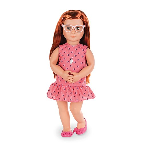 Our Generation BD31114D OG Sabina Deluxe Doll. Twin 46 cm 18