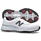 New Balance Men's nbg1701 Golf Shoe, White/Black, 12 4E US