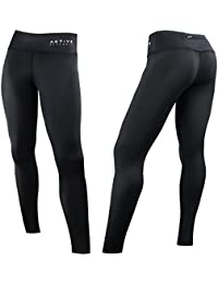 Women's Compression Pants - Athletic Tights w/Hidden Pocket