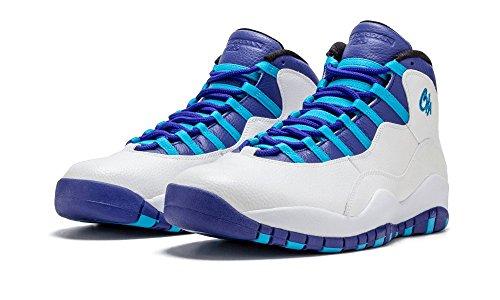 Air Jordan Retro 10 Charlotte Men's Basketball Shoes