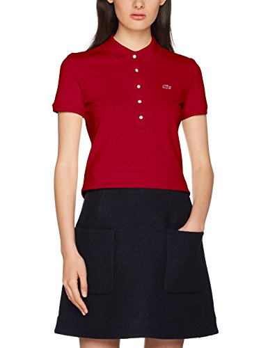 Lacoste, Polo para Mujer Rojo (Coccinelle)