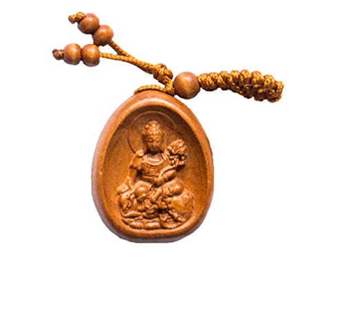 Handmade Rosewood 8 Laughing Buddha Lucky charm , This Amulet Bring Good luck, Money and Love in Your Life, Crafted at Thailand Temple - Brown Is Why Wood
