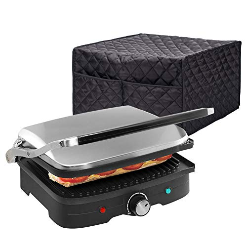 """Smart Griddler Cover, Nonstick Grill Appliance Cover, Large Size Electric Griddler Cover, 16""""Lx14.9""""Wx9""""H, Diamond…"""