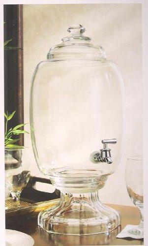 Amazoncom Westbury Mouth Blown Glass Beverage Dispenser 3 Gallon