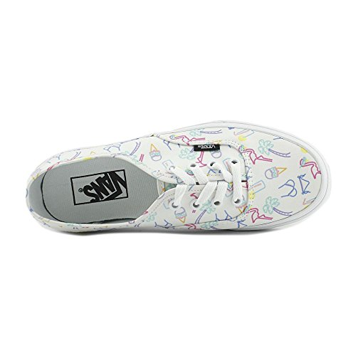 Vans Neon Lights Authentic Tropical True White wOwT8xvqr