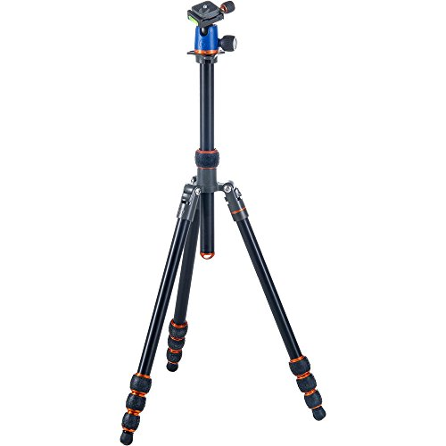 3 Legged Thing Punks Travis Aluminum Tripod Kit w/ AirHed Neo by 3 Legged Thing