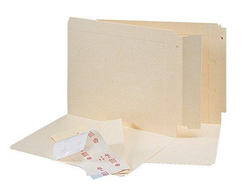 Smead Folder End Tab Converter, Reinforced 8'' High Tab, Letter/Legal, Manila, 500 per Box (68080) by Smead (Image #2)
