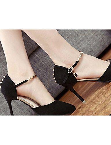 tacones cn39 tacones grigio 5 5 ® mujer eu39 ¨ negro uk4 us6 stiletto uk6 n Grigio n 7 tac us8 ZQ grigio ® casual eu37 di Scarpe ¨ vell 5 cn37 qw8Agz