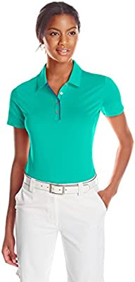 adidas Women s Essentials 3 Rayas de Golf Polo de Manga Corta ...