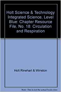 Amazon.com: Holt Science & Technology Integrated Science ...