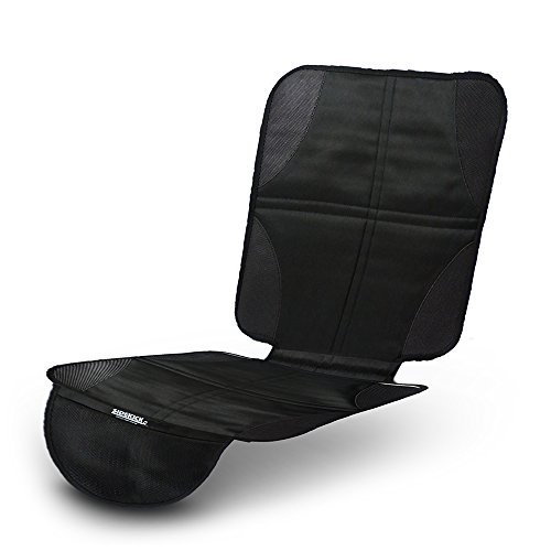 Sidekick Waterproof CAR SEAT Cover - Premium Baby CAR SEAT Protector Under Car Seat Durable Anti Slip Car Seat Mat for Leather Seats - Mesh Storage Pocket