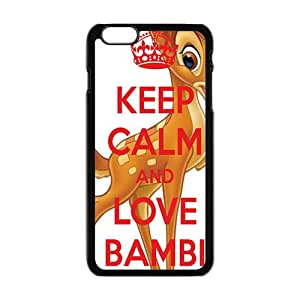 Keep calm and love bambi Case Cover For iPhone 6 Plus Case