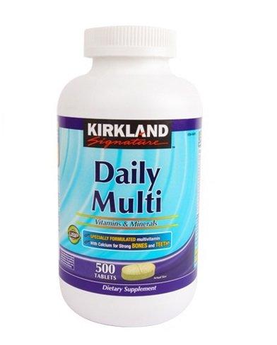 daily multi vitamins minerals