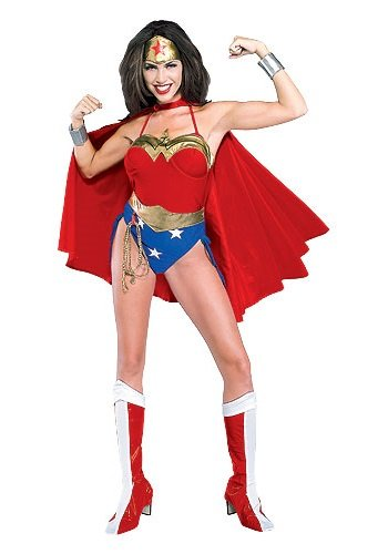 Wonder Woman Deluxe Lycra (Small (Sizes
