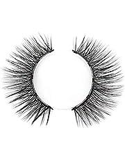 Benols Beauty Angelic Natural Magnetic Eyelashes - 5 Magnets No Glue False Lashes – Reusable Eyelash with Ultra-Thin Magnets - Requires Magnetic Eyeliner