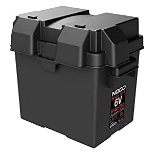 Noco Hm306bks 6v Snap Top Battery Box Battery Accessories