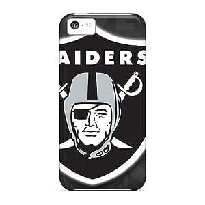 RichardBingley Iphone 5c Shock Absorption Cell-phone Hard Covers Support Personal Customs HD Oakland Raiders Pattern [AqJ10483Qavu]