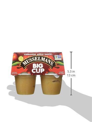 Musselman's Big Cup Cinnamon Apple Sauce, 6 Ounce (Pack of 12) by Musselmans (Image #7)