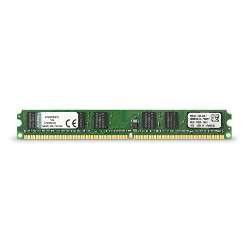 Kingston ValueRAM 1GB 800MHz DDR2 Non-ECC CL6 DIMM Desktop Memory ()