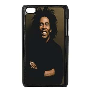 Bob Marley iPod Touch 4 Phone Case, Bob Marley Custom Hard Back Cover, iPod Touch 4 DIY Case