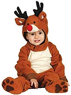 ae19ab45ca84 Baby Girls Boys Cute Reindeer Rudolph Christmas Xmas Festive Fancy Dress  Costume Outfit 6-12