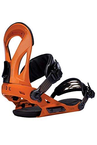 Ride EX Snowboard Bindings - Men's Orange Medium