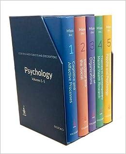 Buy ICSSR Research Surveys and Explorations: Psychology, Vols 1-5