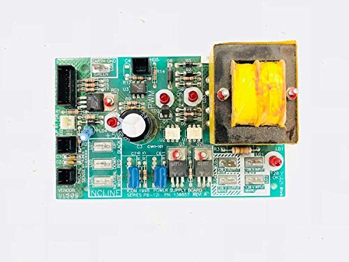 - Power Supply Board 130857 Works with Nordictrack Proform Reebok Healthrider Image Weslo