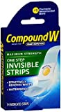 Compound W One Step Invisible Strips 14 Each (Pack of 3)