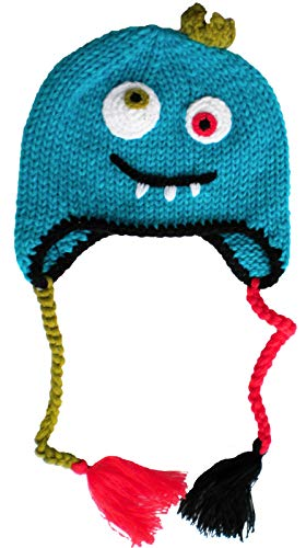 Huggalugs Baby and Toddler Monster Beanie Hat - Hat Knit Little Monster