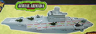 """18"""" long Aircraft Carrier with Sound/Lights and 8 Mini Aircrafts"""