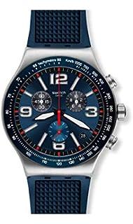 Swatch Herren Chronograph Mit Yvs449Amazon Uhr Gummi Quarz Armband dBoCxe