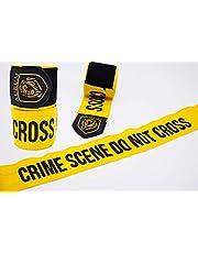Aurum Killa Wraps boksbandage met duimlussen, elastisch, premium Crime Scene look, 2,5 m, 3,5 m, 4,5 m