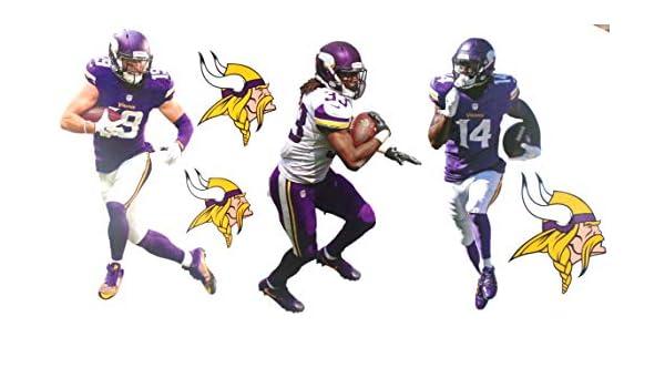 Amazon Com Fathead Minnesota Vikings Mini Graphics Team Set
