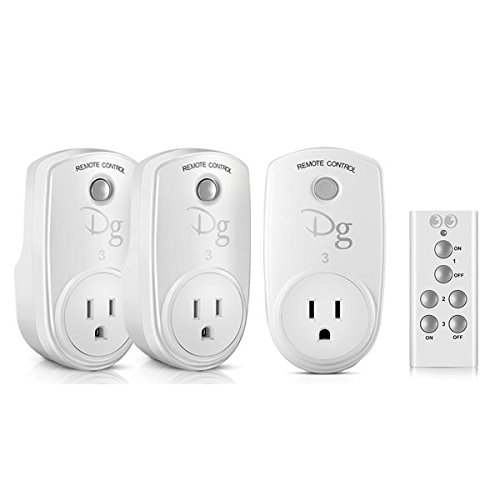 Smart4Card RC-13 Smart Home RF Wireless Remote Control Socket Power Plug Controller US (Xbox 360 Controller Rf Adapter)