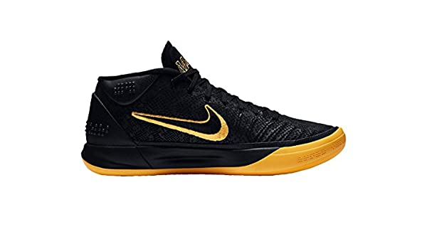 size 40 3c12b 2ef8f Amazon.com   Nike Kobe AD BM Mens Hi Top Basketball Trainers AQ5164  Sneakers Shoes (UK 9.5 US 10.5 EU 44.5, Black University Gold 001)    Basketball