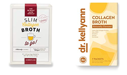 Bone Broth Collagen To Go Packets: (7 servings per box) from Bone Broth Expert Dr. Kellyann   100% Grass-Fed Collagen   Daily Serving of Collagen by Dr. Kellyann (Image #7)