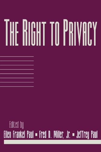 The Right to Privacy (Social Philosophy and Policy)