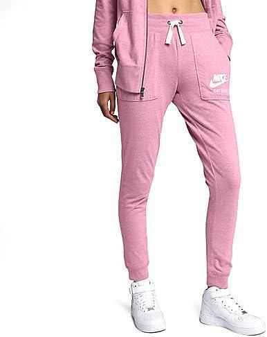 pantalon femme vintage nike rose