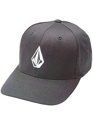 (Volcom Mens Full Stone Xfit Flexfit Cap (Small/Medium, Charcoal))