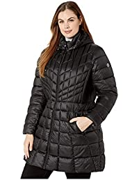 Plus Size Quilted Walker with Hood & Removable Bib