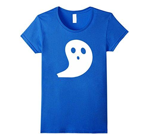 Womens Boo! Ghost Popular Halloween Costume Idea XL Royal Blue