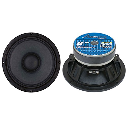 "2) AUDIOPIPE APMB8 8"" 1000W Low/Mid Bass Frequency Loudspeakers Speakers APMB-8"