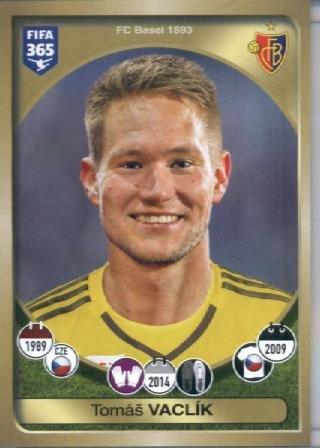 fan products of 2016-17 Panini FIFA 365 #216 Tomáš Vaclík FC Basel 1893 Soccer Sticker